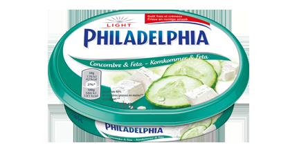 Philadelphia Feta & Komkommer Light