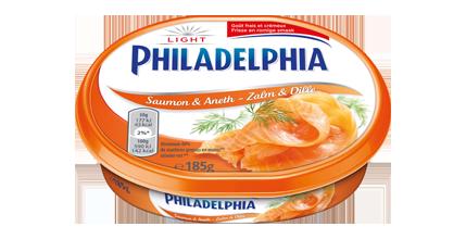Philadelphia Zalm en Dille Light