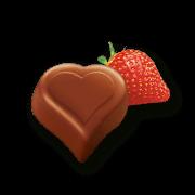 I love Milka Erdbeer Pralinés 110g