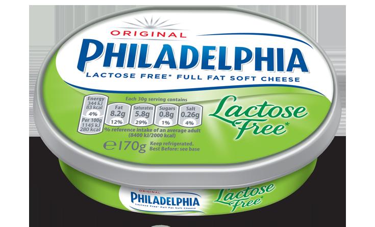 cream cheese lactose