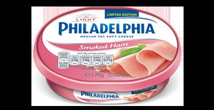 Philadelphia Light with Smoked Ham