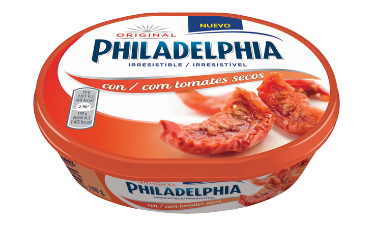 Philadelphia de Tomates Secos