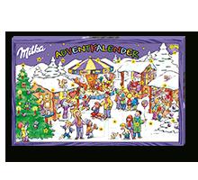 Milka Naps Adventkalender 119,6g