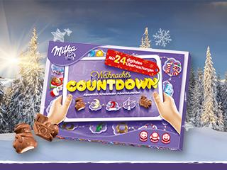 Milka Weihnachtskalender.Milka Adventskalender Weihnachts Countdown 200g