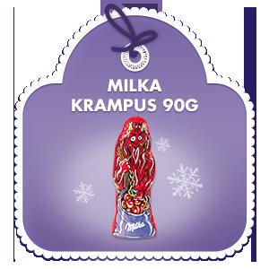 Milka Krampus Alpenmilch 90g
