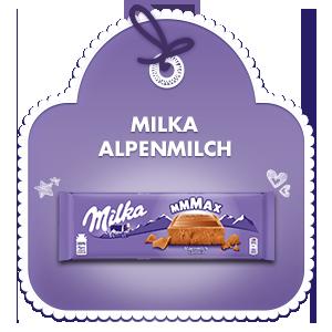 Milka Mmmax Alpenmilch