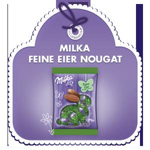 Milka Feine Eier Nougat-Crème 90g