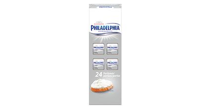 Philadelphia Klassisch Doppelrahmstufe 24 x 16,67g