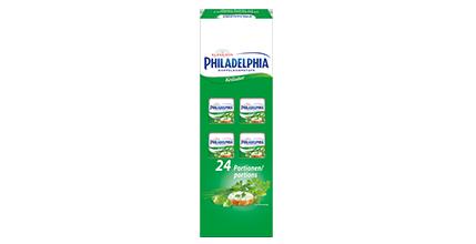 Philadelphia Kräuter Doppelrahmstufe 24 x 16,67g