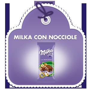 Milka con Nocciole