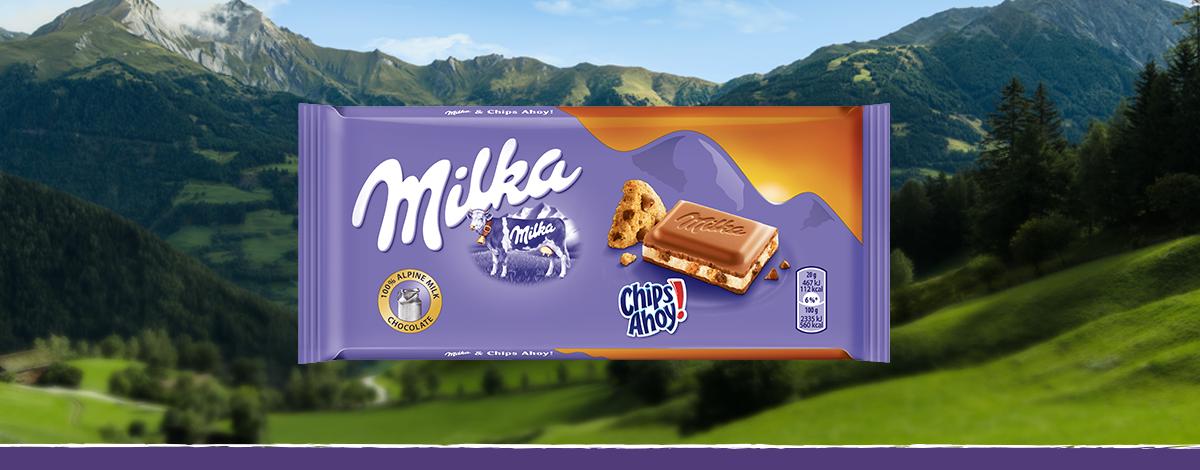 Milka & Chips Ahoy! 100g