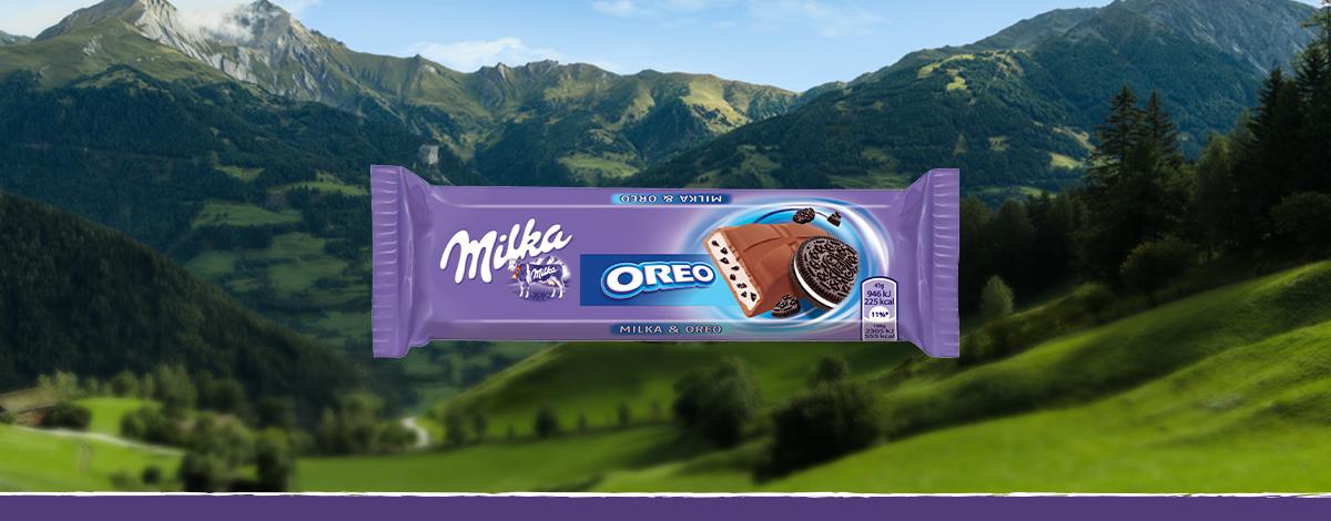 Bar Milka & Oreo