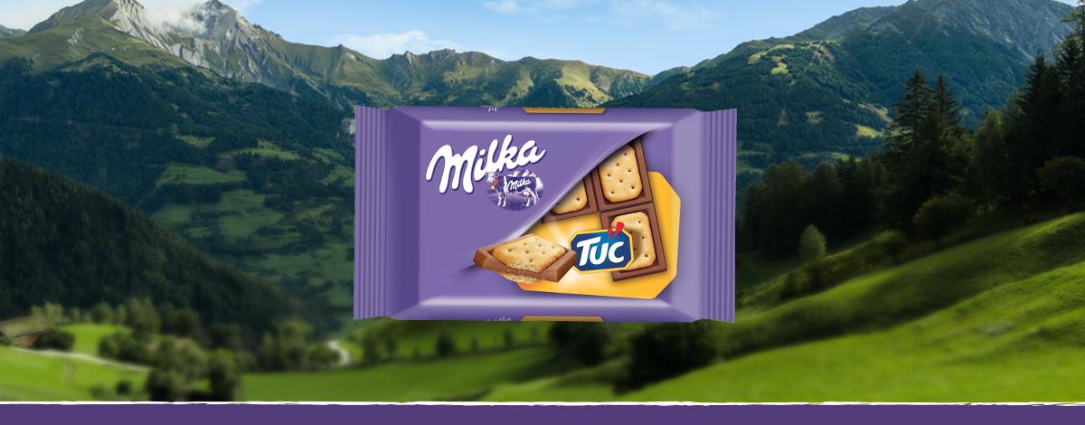 Milka Pocket TUC