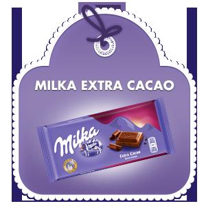 Milka Extra cacao