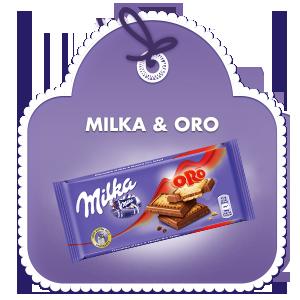 Milka & Oro 87 g