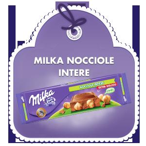 Milka Nocciole Intere 300g