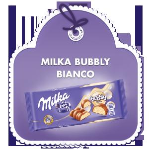 MILKA BUBBLY BIANCO 95g