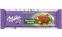Milka Bar Nocciole intere
