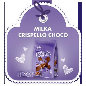 Milka Crispello Choco