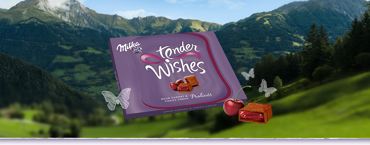 Milka Tender Wishes 110g