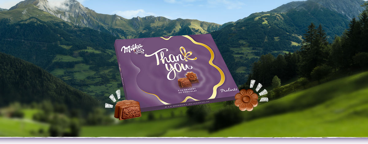 Milka Thank You 120g