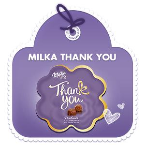 Milka Thank you 150g