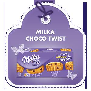 Milka Choco Twist