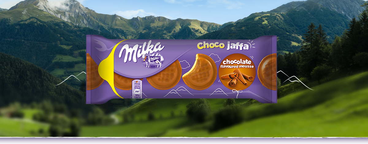 Milka Jaffa Chocolate Mousse