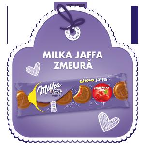 Milka Jaffa Rasberry