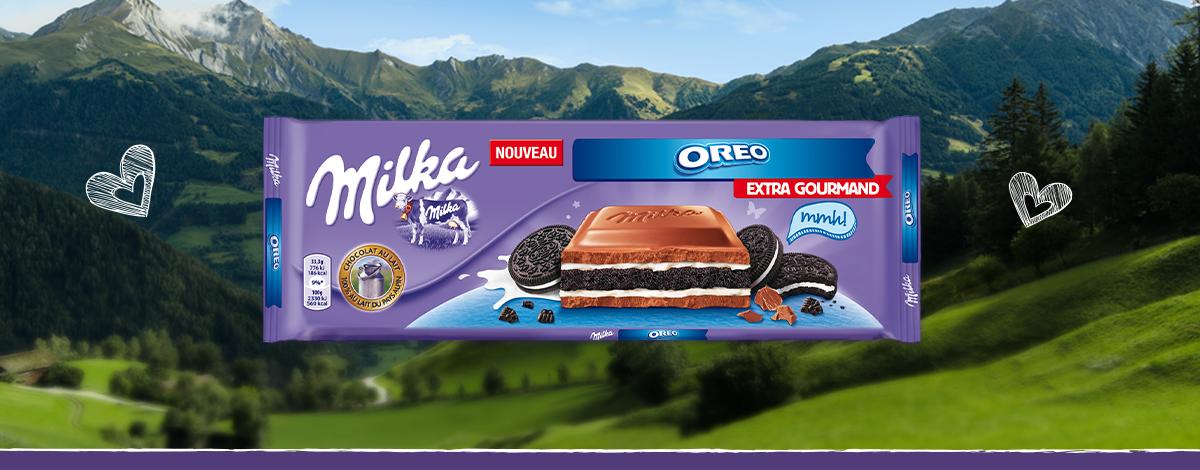 Milka Extra Gourmand Oreo