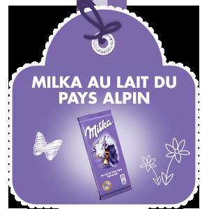 Milka Au Lait du Pays Alpin
