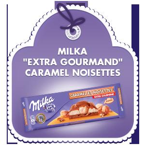 Milka Extra Gourmand Caramel Noisettes