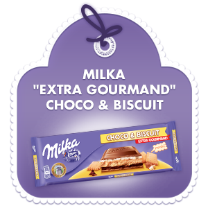 Milka Extra Gourmand Choco & Biscuits