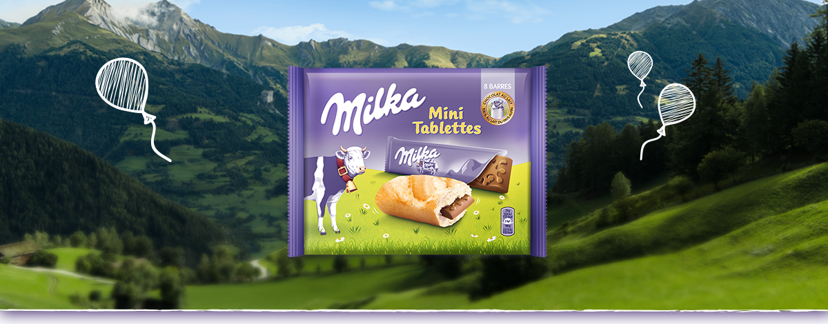 Milka Mini Tablettes