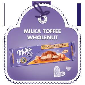 Milka Toffee Wholenuts