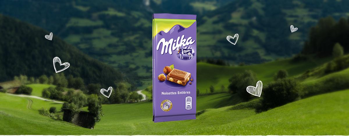 Milka Noisettes Entières