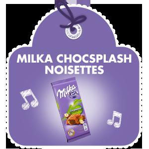 Milka Choqsplash Noisettes