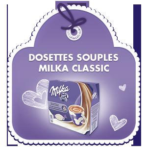 Dosettes Souples Milka Classic