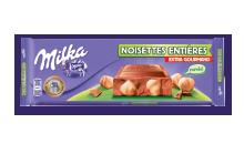 Milka Extra Gourmand Noisettes Entières