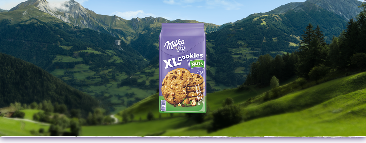 Milka Cookies XL Nuts