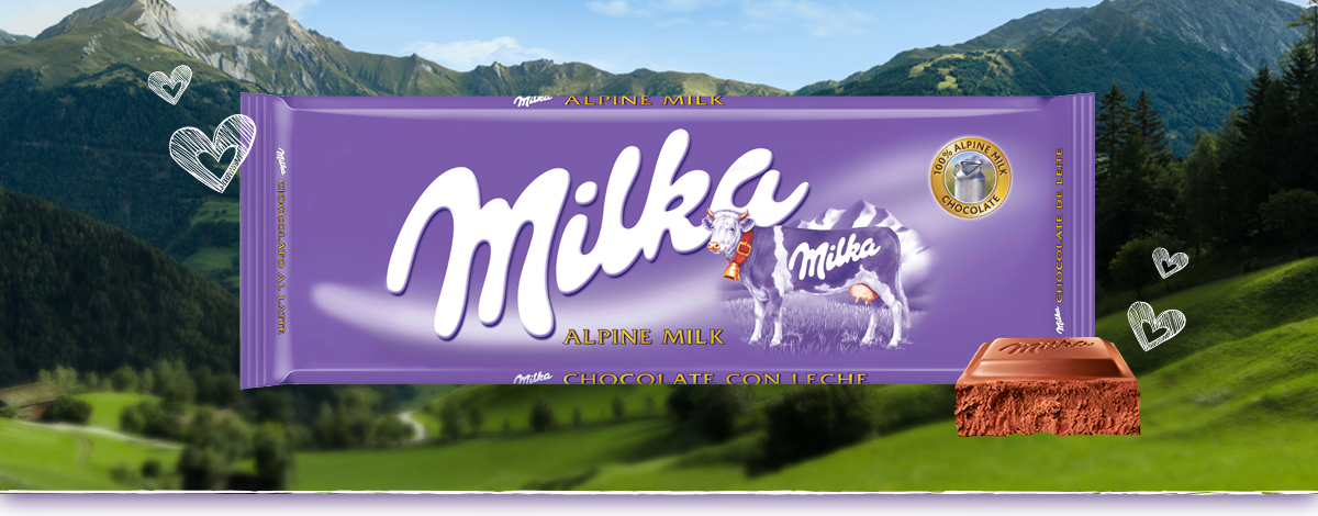 MILKA CHOCOLATE CON LECHE