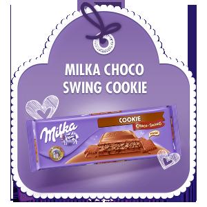 MILKA CHOCO-SWING COOKIE