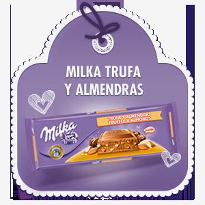 MILKA TRUFA Y ALMENDRAS