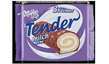 MILKA TENDER LECHE X3