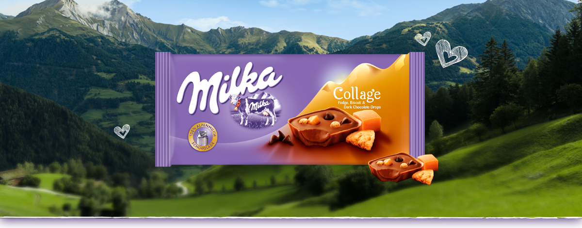 MILKA COLLAGE CARAMELO