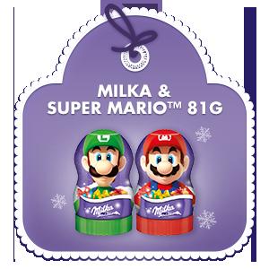 Milka & Super Mario™ Geschenkfigur 81g