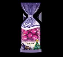 Milka Weihnachts-Kugeln Nuss-Crisp 100g