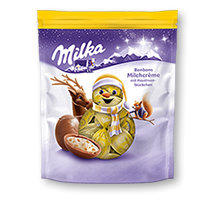 Milka Weihnachts-Bonbons Milchcrème 86g