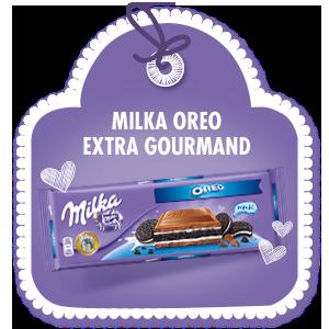 MILKA OREO <br> EXTRA GOURMAND
