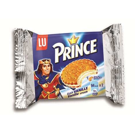 Biscuits - Gateaux - Goûter Prince Vanille 40g (x2) x110 Alt Mondelez Pro